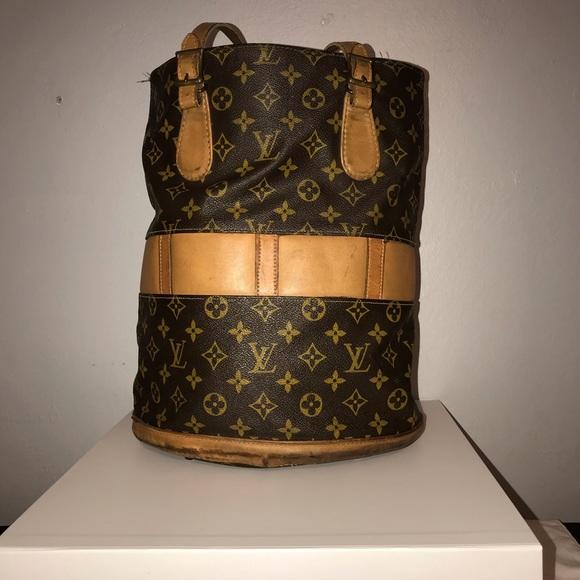 Louis Vuitton Handbags - 1970 Louis Vuitton French Co Bucket Bag